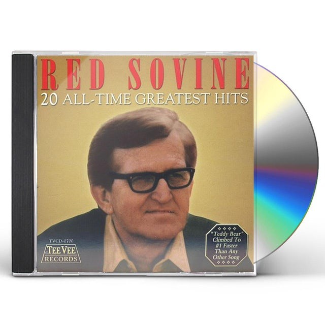 Red Sovine 20 ALL TIME GREATEST HITS CD