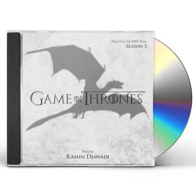 GAME OF THRONES: SEASON THREE (SCORE) / Original Soundtrack CD