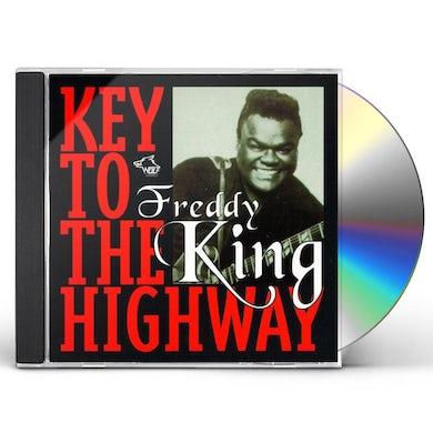 Freddie King KEY TO THE HIGHWAY CD