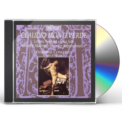 Monteverdi LETTERA AMOROSA FOR ONE VOICE CD