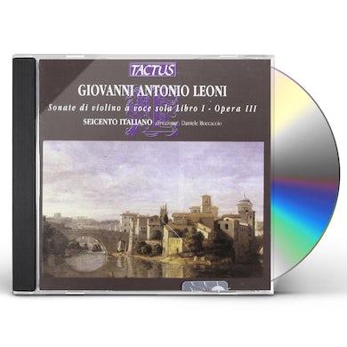 Leoni SONATE DI VIOLINO A VOC CD