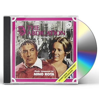 Nino Rota ABDICATION / Original Soundtrack CD