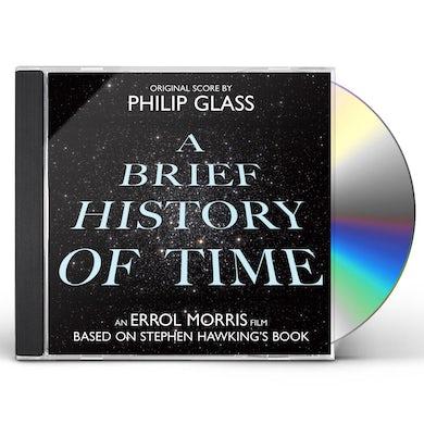 Philip Glass BRIEF HISTORY OF TIME / Original Soundtrack CD
