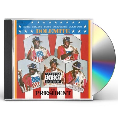 Rudy Ray Moore DOLEMITE FOR PRESIDENT CD