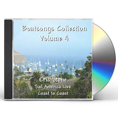 Eric Stone BOATSONGS: SAIL AMERICA LIVE 4 CD