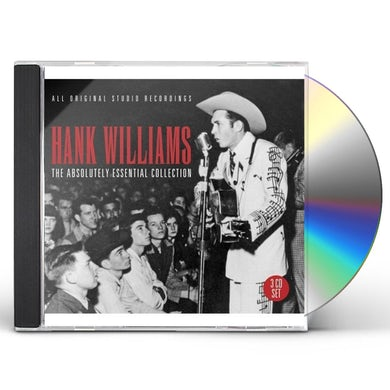 Hank Williams ABSOULUTELY ESSENTIAL COLLECTION CD