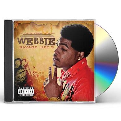 Webbie SAVAGE LIFE 3 CD