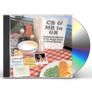 Captain Beefheart & His Magic Band CB & MB LIVE IN GB CD