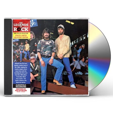 Alabama 40 HOUR WEEK CD