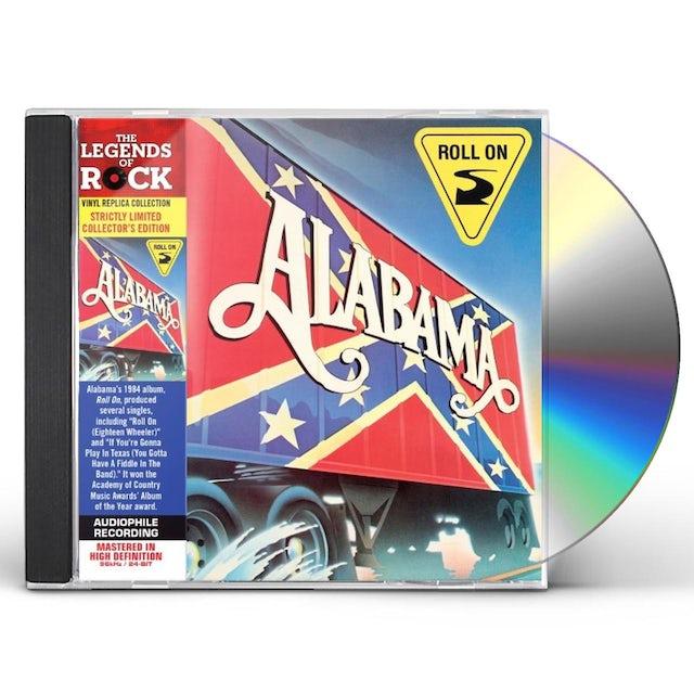 Alabama ROLL ON CD