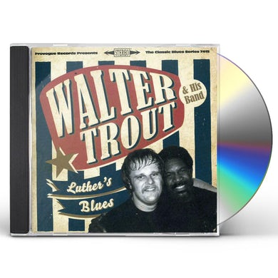 Walter Trout LUTHER'S BLUES - A TRIBUTE TO LUTHER ALLISON CD