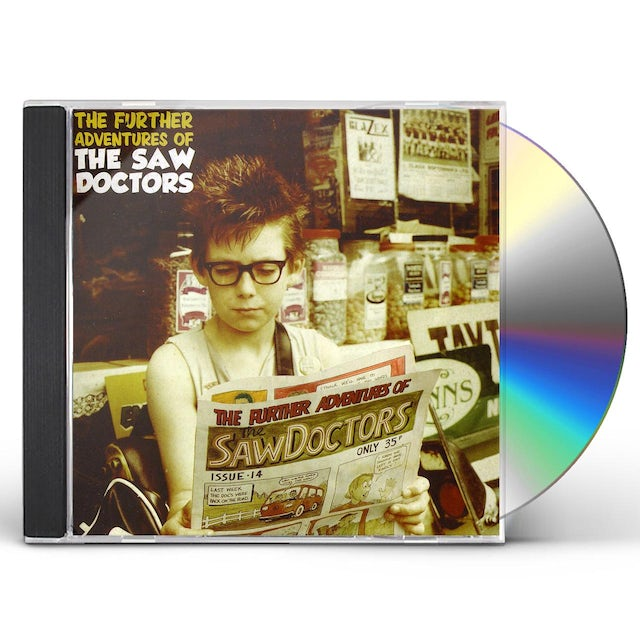 FURTHER ADVENTURES OF THE SAW DOCTORS CD