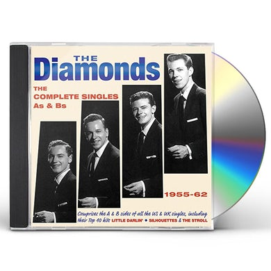Diamonds COMPLETE SINGLES AS & BS 1955-62 CD