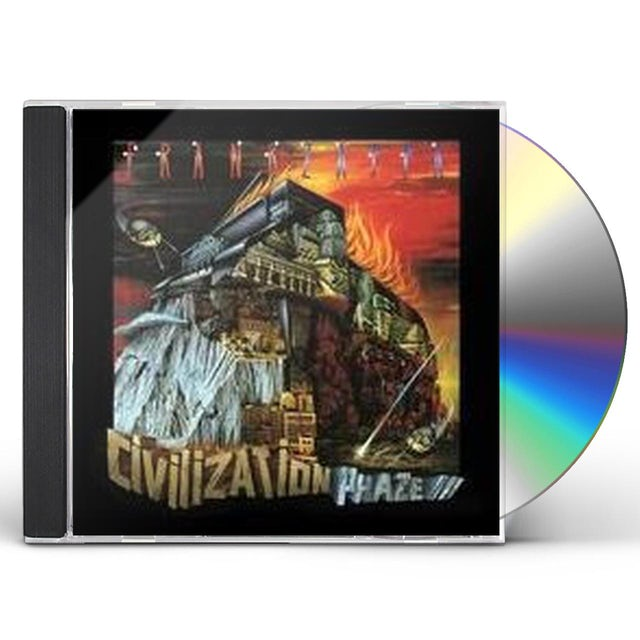 Frank Zappa CIVILIZATION PHASE III CD