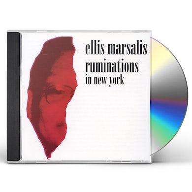 Ellis Marsalis RUMINATIONS IN NEW YORK CD