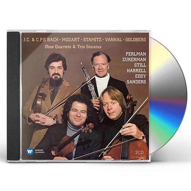 Itzhak Perlman BAROQUE ALBUMS CD