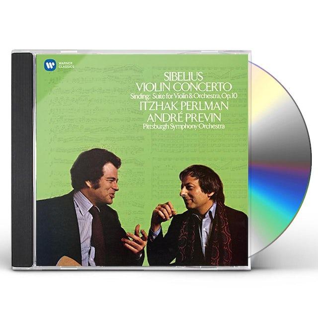 Itzhak Perlman SIBELIUS: VIOLIN CONCERTO - SINDING: SUITE CD