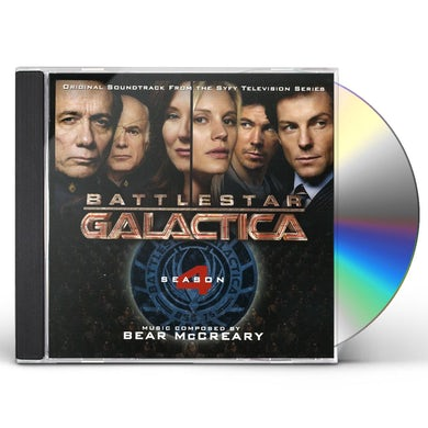 Bear McCreary BATTLESTAR GALACTICA: SEASON 4 / Original Soundtrack CD