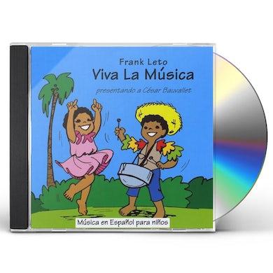 Frank Leto VIVA LA MUSICA CD