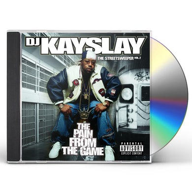 DJ Kayslay STREETSWEEPER 2: THE PAIN FROM THE GAME CD