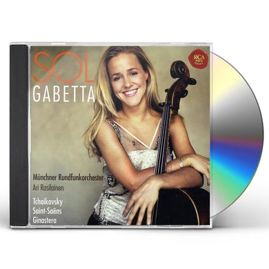 Sol Gabetta TCHAIKOVSKY / SAINT SAENS / GINASTERA CD