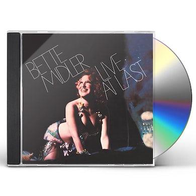 Bette Midler LIVE AT LAST CD