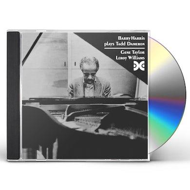 Barry Harris PLAYS TADD DAMERON CD