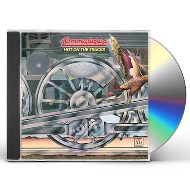 Commodores HOT ON THE TRACKS CD