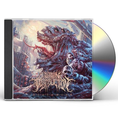 Within Destruction DEATHWISH CD