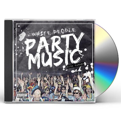 WHITE PEOPLE PARTY MUSIC CD
