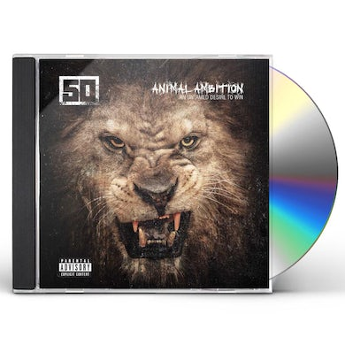 50 Cent ANIMAL AMBITION: AN UNTAMED DESIRE TO WIN CD