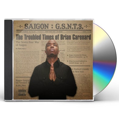 Saigon GSNT 3: THE TROUBLED TIMES OF BRIAN CARENARD CD