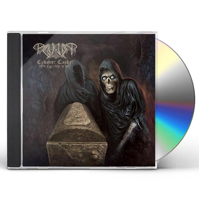 Paganizer CADAVER CASKET (ON A GURNEY TO HELL) CD