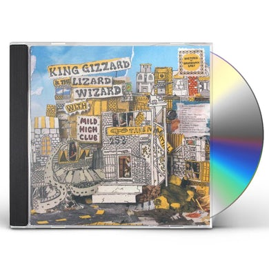 King Gizzard & The Lizard Wizard SKETCHES OF BRUNSWICK EAST (FEAT MILE HIGH CLUB) CD