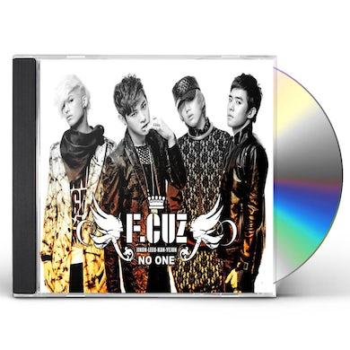 F.Cuz NO ONE CD