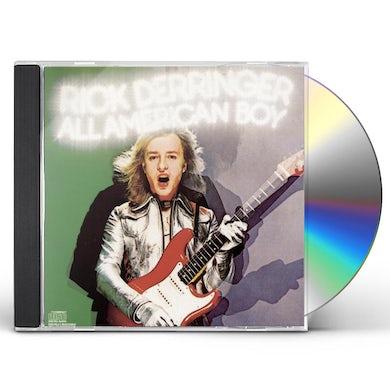 Rick Derringer ALL AMERICAN BOY CD