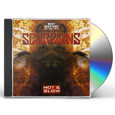 Scorpions HOT & SLOW: BEST MASTERS OF THE 70'S CD