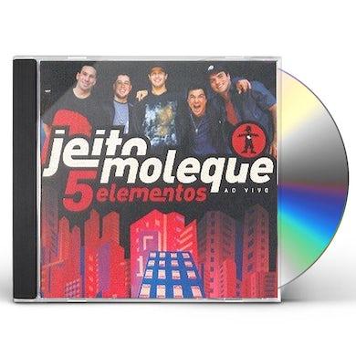 5 ELEMENTOS AO VIVO CD