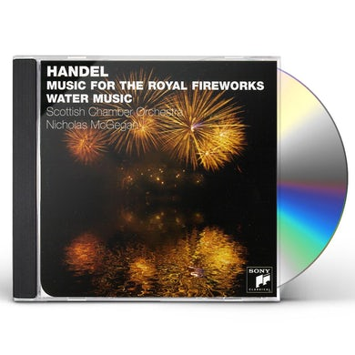 Scottish Chamber Orchestra HANDEL: MUSIC FOR THE ROYAL FIREWORKS WATER MUSIC CD