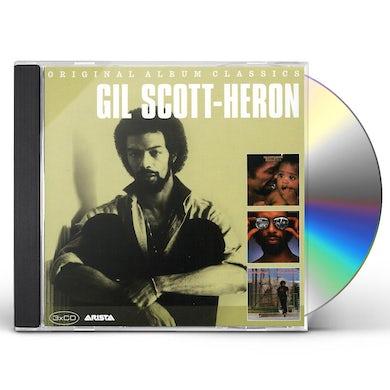 Gil Scott-Heron ORIGINAL ALBUM CLASSICS CD