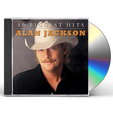Alan Jackson 16 BIGGEST HITS CD