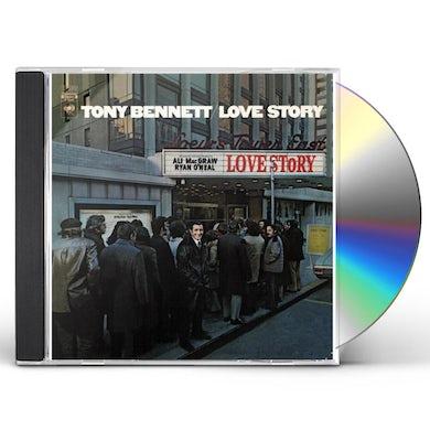 Tony Bennett LOVE STORY CD