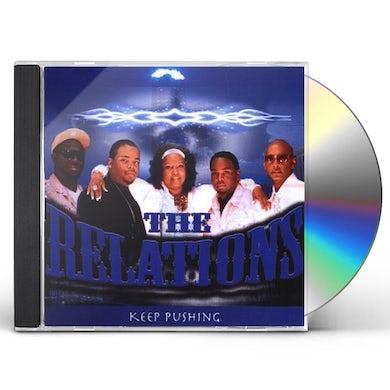 Relations KEEP PUSHING CD