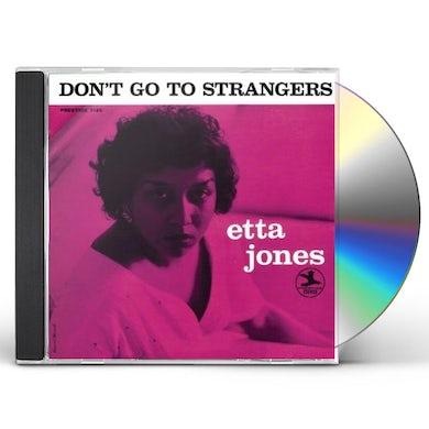 Etta Jones DON'T GO TO STRANGERS CD