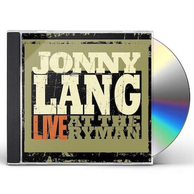 Jonny Lang LIVE AT THE RYMAN CD