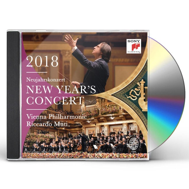 Riccardo Muti / Wiener Philharmoniker NEW YEAR'S CONCERT 2018 / NEUJAHRSKONZERT 2018 CD