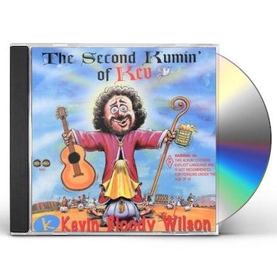Kevin Bloody Wilson SECOND KUMMIN OF KEV CD