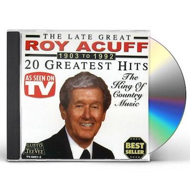 Roy Acuff 20 GREATEST HITS CD