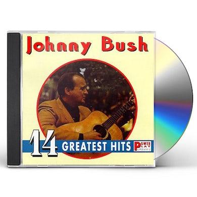 Johnny Bush 14 GREATEST HITS CD