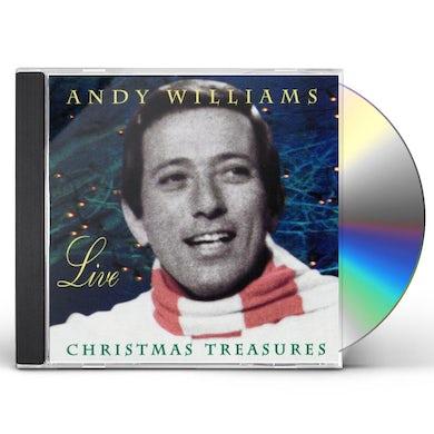 ANDY WILLIAMS LIVE: CHRISTMAS TREASURES CD